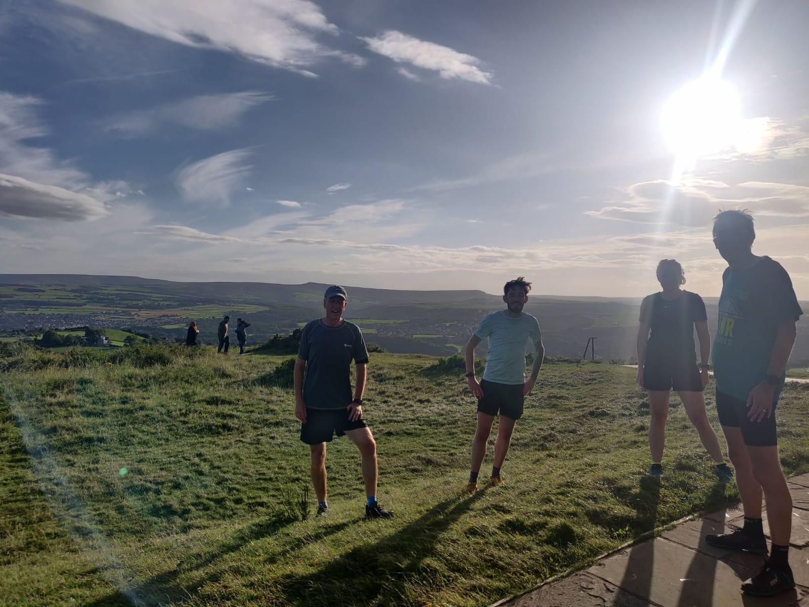 Castle Hill trail run
